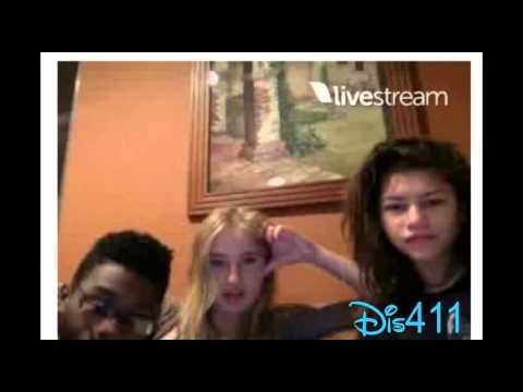 Zendaya's Live Chat With Veronica Dunne & Kamil McFadden Janury 25, 2015