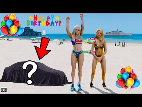 GTA 5 MIA REAL LIFE MOD SS1#2 BIRTHDAY SURPRISE FOR MY BEST FRIEND