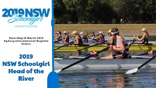 2019 NSW Schoolgirl Head of the River