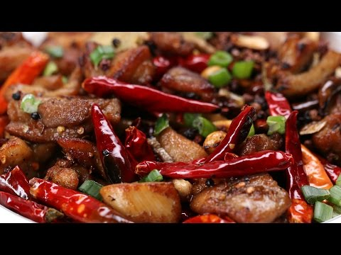 Super Spicy Szechuan Chicken