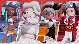 All 11 Gym Leader Battles | Pokémon Sword & Shield ᴴᴰ (2019)