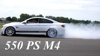 550 PS BMW M4 F82 w/FI Exhaust - Launch Control & Burnout & Sound | By Z-Performance Wheels