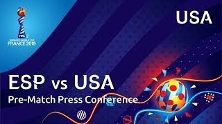 ESP v. USA - USA Pre-Match Press Conference