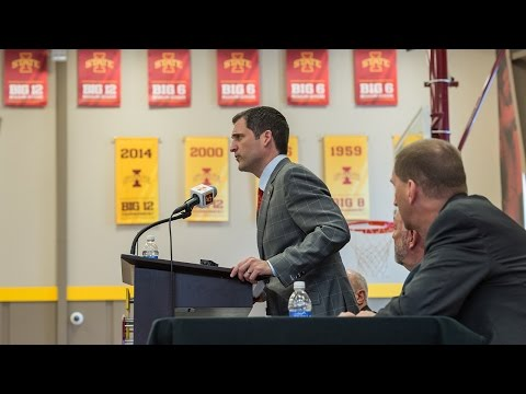 Steve Prohm Introductory Media Conference at Iowa State