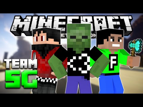BEST TEAM EVER!? - Team Survival Games for MCPE LBSG - Minecraft PE (Pocket Edition)