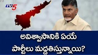 అవిశ్వాసంపై ఓట్టింగ్..! | CM Chandrababu Over No Confidence Motion