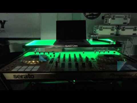 Pioneer DDJ-RZ / DDJ-SZ / DDJ-SZ2 DJ Controller Premium Edition LED Flight FX Case by Odyssey