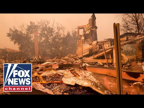 Who is to blame for the massive wildfires in California?