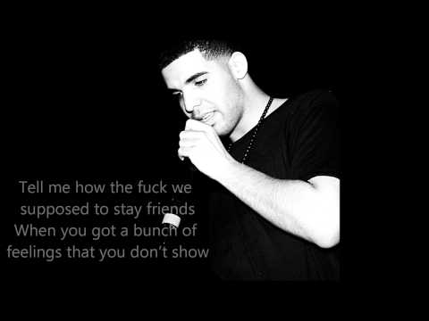 Drake- Trust Issues (on Screen Lyrics) video