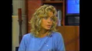 Farrah on Regis and Kathy Lee 1999