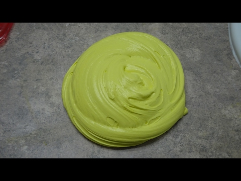 How To Make Butter Slime With - DIY Homemade Air Dry Clay