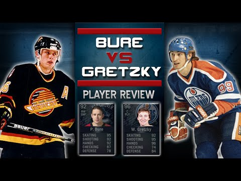 NHL 15 HUT   Legend Player Review: Bure vs Gretzky