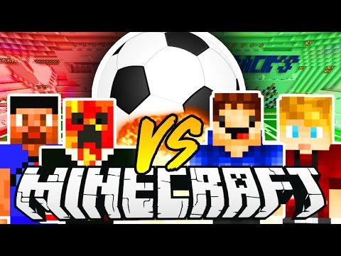 THE PACK MINECRAFT FOOTBALL MATCH