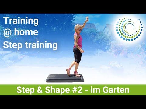 Step & Shape # 2 - Ganzer Kurs | Deine Step-Stunde für zu Hause #MitMir im Garten