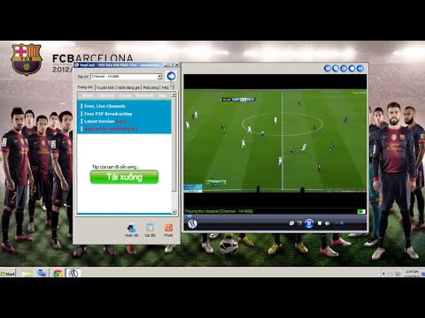 Xem trực tuyến tất cả các trận đấu của Barca bằng SopCast