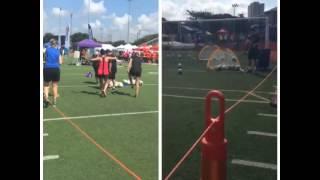 2015 San Antonio Sports Corporate Cup Soccer Kicks