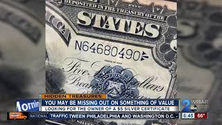 Are you missing a $5 silver certificate?