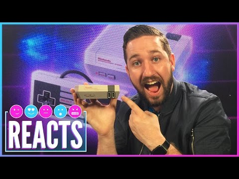 Unboxing The NES Classic Edition - Kinda Funny Games Reacts