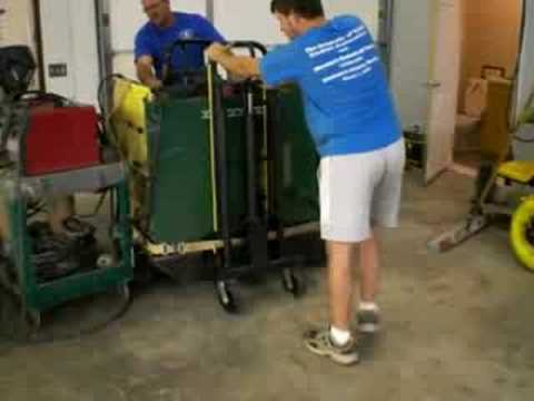 0 Lift Dolly   Jack Dolly Built by Don Carpenter