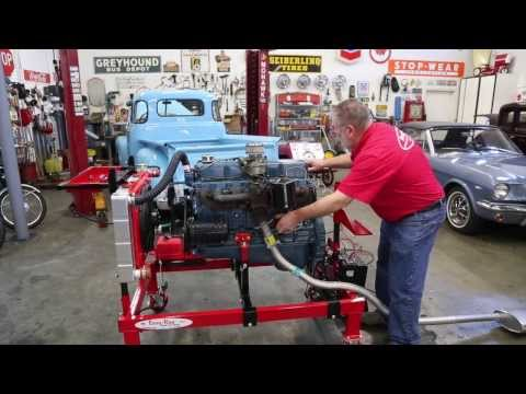 Chevy 235 6  engine on Easy Run test stand  Drager's International Classic Sales 206-533-9600
