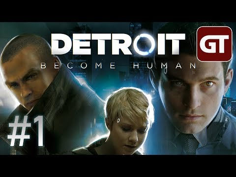 Detroit: Become Human - Gameplay German #1 - Let's Play Detroit: Become Human PS4 Pro