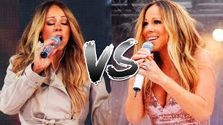 Mariah Carey - Rehearsals Vs. Live Performances! (Same Song Comparison)