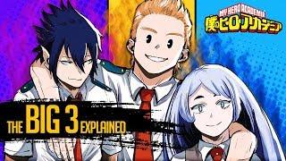 The Big Three Explained | My Hero Academia