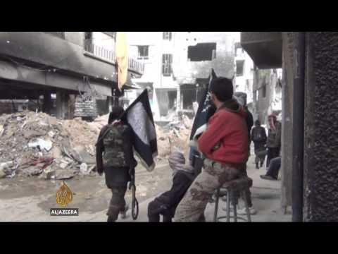 ISIL attacks Yarmouk refugee camp in Syria