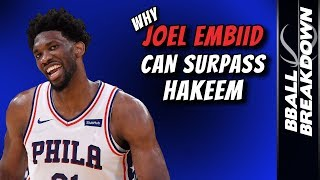 Why Joel EMBIID Can Surpass Hakeem