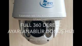 GG-NHD300 SMART HIGH SPEED DOME TANITIM VİDEOSU 2