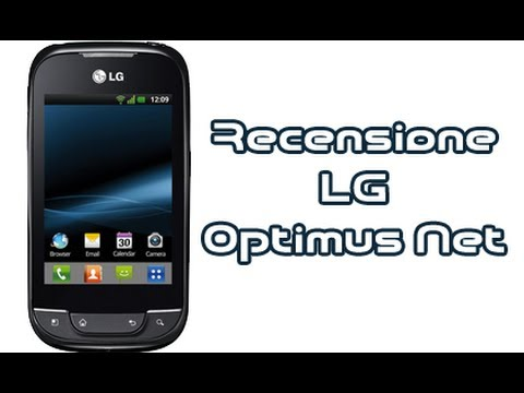 LG Optimus Net P690, recensione completa in italiano by AndroidWorld.it