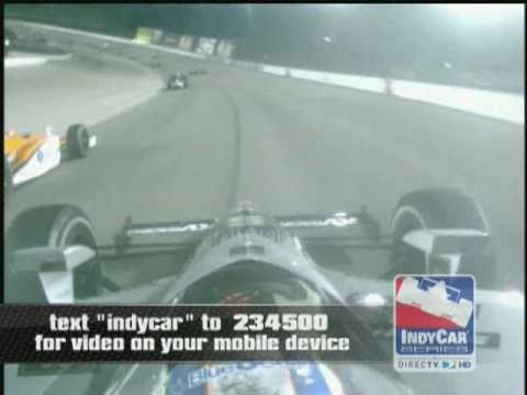Oriol Servia Crash in Texas - Indycar 2008 Video