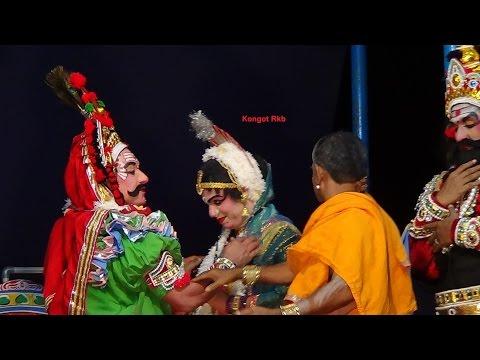 Yakshagana -- Om Namah Shivaya - 8 - Hasya video