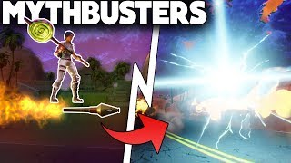 What Happens When You ROCKET RIDE THROUGH A RIFT!? | Port-A-Fort On A Rift | Fortnite Mythbusters