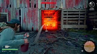 Days Gone - Old Sawmill Horde (Biggest Horde Fight)