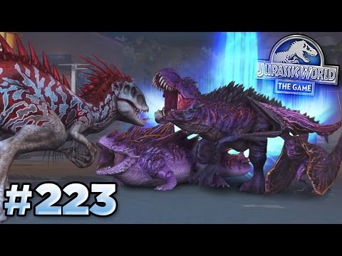 FIGHTING ALL BOSSES! || Jurassic World - The Game - Ep223 HD