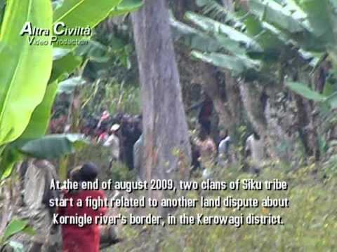 Reportage from Chimbu (Papua New Guinea) PART I - Directed by Livio Fornoni (2010)