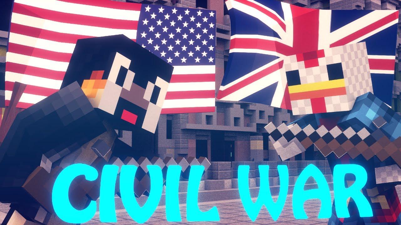 Minecraft | Civil War Battle