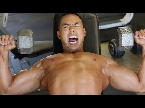 Mike Trains Crazy On Chest Day - E.r.o.m Training video