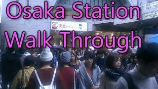 Osaka Station Walk Through | The Boundless Journey