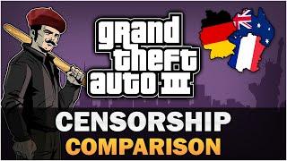 GTA III - Cut vs Uncut version [Regional Differences] [Censorship] [Comparison]