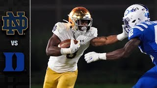 Notre Dame vs. Duke Football Highlights (2019)