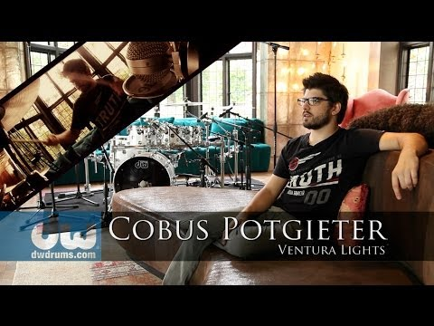 Cobus Potgieter plays DW Performance & PDP Concept Series Drums with Ventura Lights