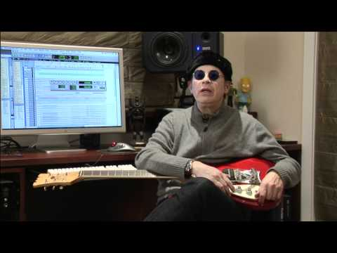 Elliot Easton on Mosrite Guitar