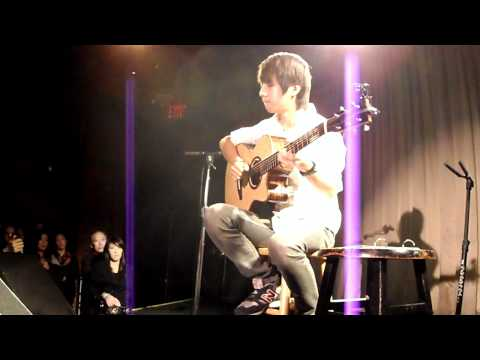 (eagles) Hotel California - Sungha Jung (live  Nyc Canal Room) video