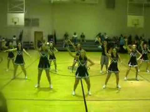 James Wood Middle School Cheerleaders