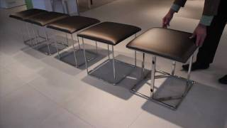 Cubista: Transformable Ottoman / Stools