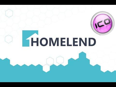 Homeland: платформа для ипотечного кредитования на основе Blockchain