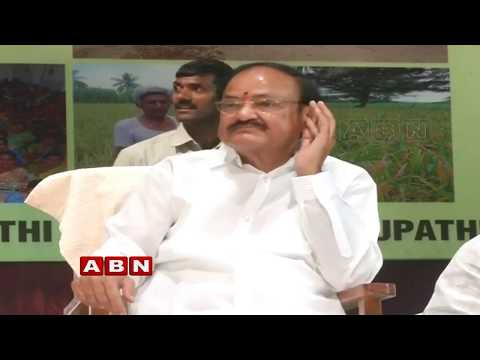 Venkaiah Naidu Addresses Women Empowerment & Farmers Development Meeting | Tirupati | ABN Telugu