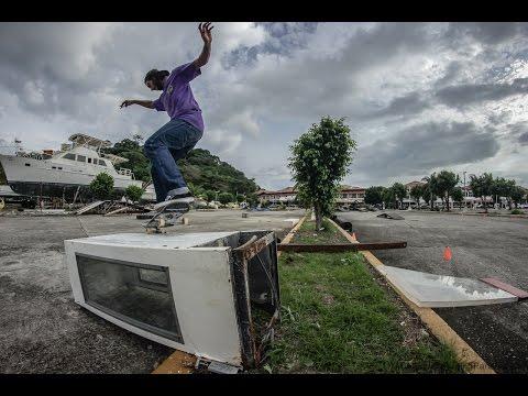 De Costa del Este a Amador con Jose L. Ouzande e Ivan Arcia - Skateboarding Panama